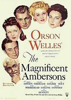 'The Magnificent Ambersons' poster