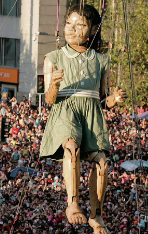 Royal de Luxe' Giant Saga' will be the flagship event for Limerick City of Culture.
