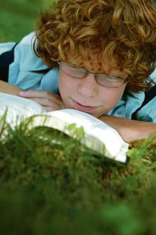 Teenagers read about all kinds of issues in books