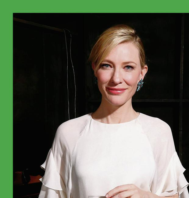 Star: Actress Cate Blanchett has bought the film rights to The Dinner and has said it will be her directorial debut. Photo: Christopher Polk.