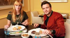 Leslie Anne Horgan and Shane Filan