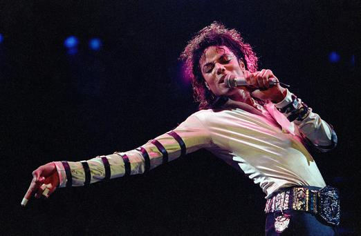Michael Jackson, seen here on stage in 1998, died just weeks before his comeback tour in 2009. Photo: AP