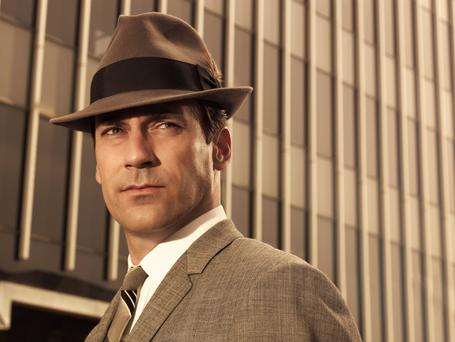 Don't believe the hype: Mad Men, starring Jon Hamm as Don Draper, is scolded by Clive James