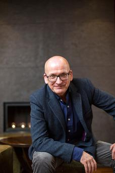 Author Roddy Doyle. Photo: Mark Condren