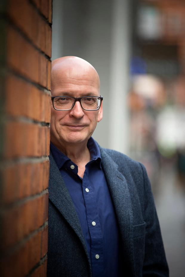 Man of words: 'I do have a certain grit,' says Roddy Doyle. Photo: Mark Condren