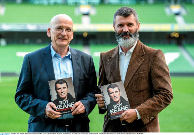 Roddy Doyle ghosted Roy Keane's second autobiography