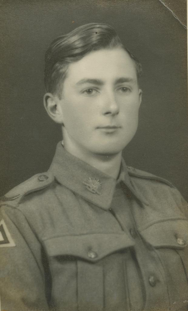 Nick Tottenham, Caroline Preston's uncle who was held as a POW by the Japanese in Singapore