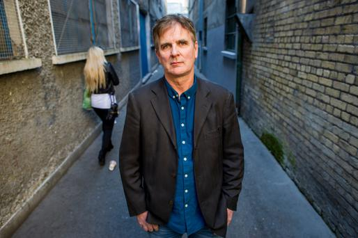 Fact or fiction? Barry McKinley says his novel is 80pc true. Photo: Douglas O'Connor