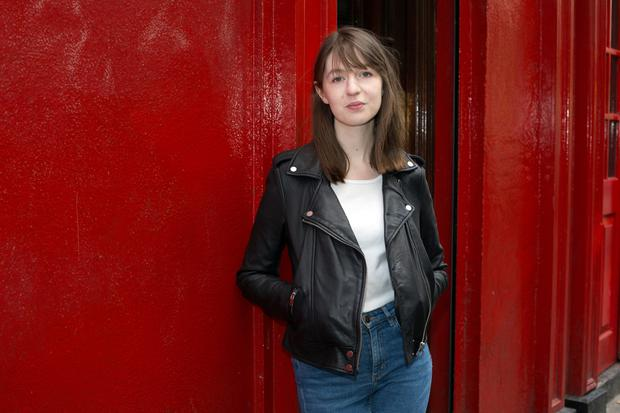Fish out of water: Sally Rooney was brought up in Castlebar, Co Mayo. Photo: Tony Gavin