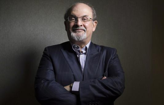 Critical eye: 'Irreverence is an excellent policy for a writer,' says Rushdie