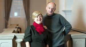 Alison Walsh and Colm O'Gaora are both published authors. Photo: Tony Gavin