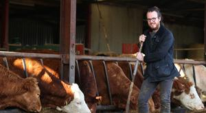 John Connell pictured at the family farm in Ballinalee, Co. Longford. Photo: Damien Eagers