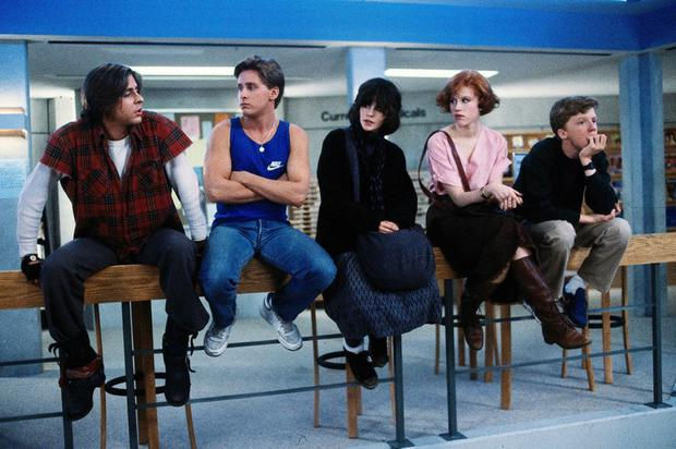 All the best school stories are about rule breakers, like in The Breakfast Club