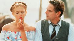 Vexed classic: Dominique Swain and Jeremy Irons in the 1997 film version of Lolita