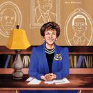 Lauren O'Neill's illustration of Mary Robinson from 'Blazing A Trail'