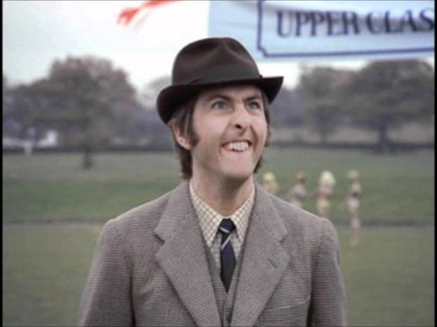 Technicolour: Eric Idle during the early days of Monty Python