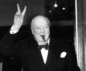 Irish link: Winston Churchill, whose grandfather was Viceroy to Ireland, lived in Dublin's Phoenix Park from aged 2 to 6.