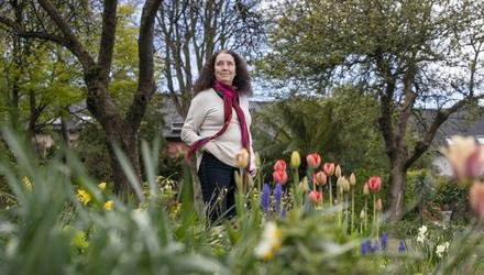 Writer Alannah Hopkin, pictured in her home Kinsale, Co. Cork. Picture by Clare Keogh