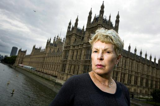CAMPAIGNER: Ruth Rendell, as well as a prolific author, also sat in the House of Lords