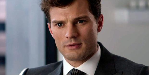 Jamie Dornan as Christian Grey in the film version of the book