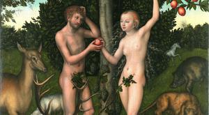 Adam and Eve. Found in the collection of Courtauld Institute of Art, London. (Photo by Fine Art Images/Heritage Images/Getty Images)