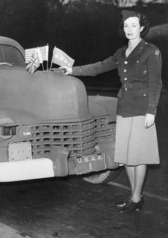 Kay Summersby ,from Co Cork, first met Dwight D Eisenhower when assigned to chauffeur him during a wartime visit to London