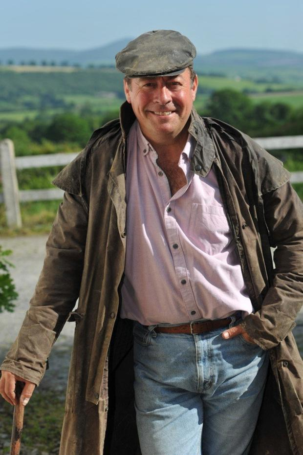 Change of script: Philip Judge has swapped treading boards for donning of wellies