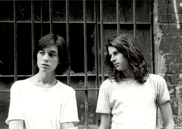 Forbidden love: Andrew Robertson and Charlotte Gainsbourg as siblings in the 1993 film The Cement Garden