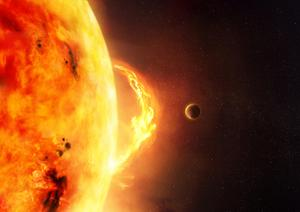 Warning shot: A solar flare narrowly missed the Earth in 2012. If it had hit, it would have had a catastrophic  effect on technology and communications
