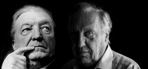 Charles Haughey and Frederick Forsyth