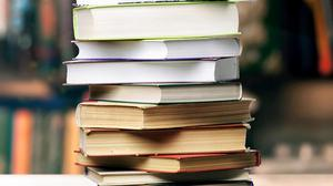 Stock picture of books