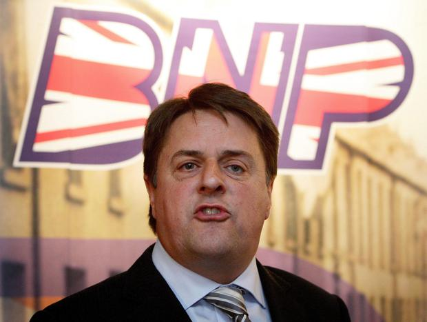 Nick Griffin, who led the far-right BNP party in the UK