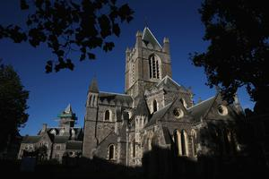 Iconic: Church of Ireland cathedral at Christ Church in Dublin city