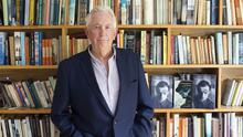Timeless writing style: Author Peter Cunningham. Photo by Tony Gavin