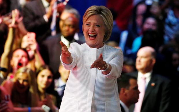 The former First Lady faces a final frantic push to become the first female US President.