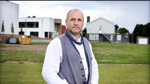 Ambition: writer Colum McCann has channelled his talent into high-minded feel-good fiction. Photo by Steve Humphreys