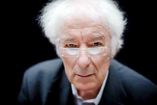 Seamus Heaney, who died one year ago