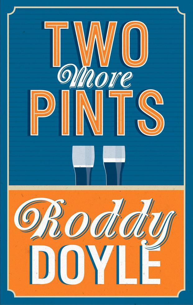 Image result for roddy doyle two pints
