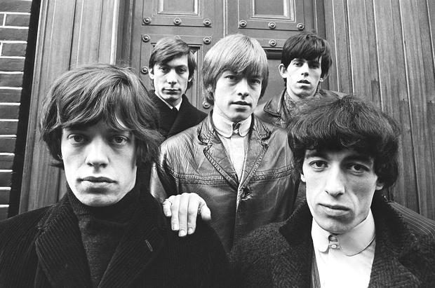 The Rolling Stones: Mick Jagger, Charlie Watts, Brian Jones, Keith Richards and Bill Wyman in 1963