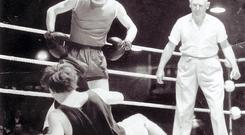 A prize winning boxer in his youth, Lugs was a well known amateur boxing referee later