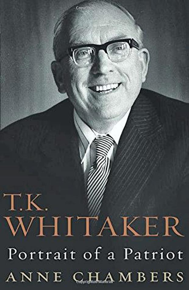 TK Whitaker: Portrait of a Patriot by Anne Chambers