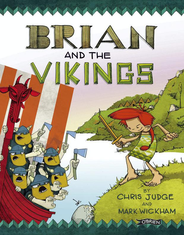 A scene from Brian and the Vikings