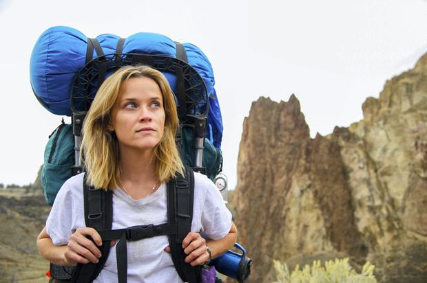 Reese Witherspoon in the movie of the bestseller Wild, a journey in search of emotional redemption