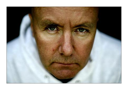 Filthy charm: Irvine Welsh has just released his new novel, A Decent Ride. Photo: David Conachy