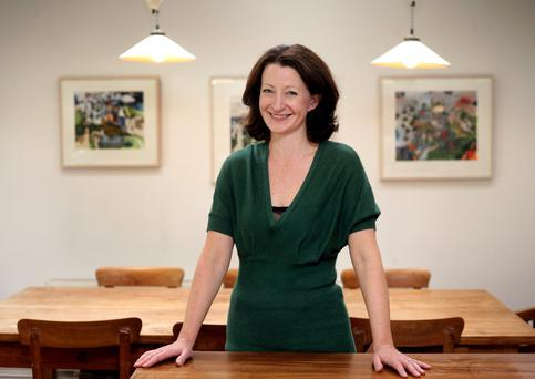Pacy read: Author Kathleen MacMahon's second novel has been three years in the making