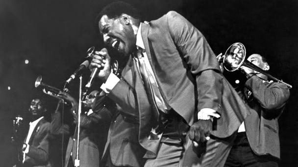 Soul man: Otis Redding, pictured here in 1967, was also known as the 'Mad Man from Macon'.