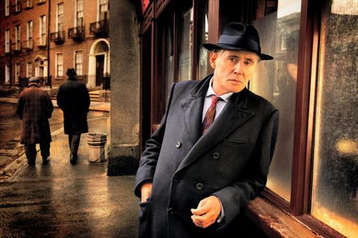 Past catching up: Gabriel Byrne as Benjamin Blake's pathologist Quirke, sees his sketchy family tree in spotlight