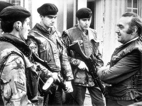 Speak no ill: Former Labour cabinet minister Roy Mason (right) who seved as Northern Ireland secretary at the height of the Troubles