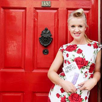 Candid: Actress and writer Sharyn Hayden has shared her first-time mummy memoirs