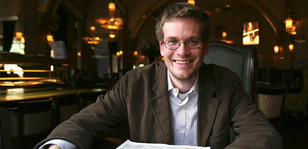 Anointed: John Green was one of TIME magazine's 100 most influential people.